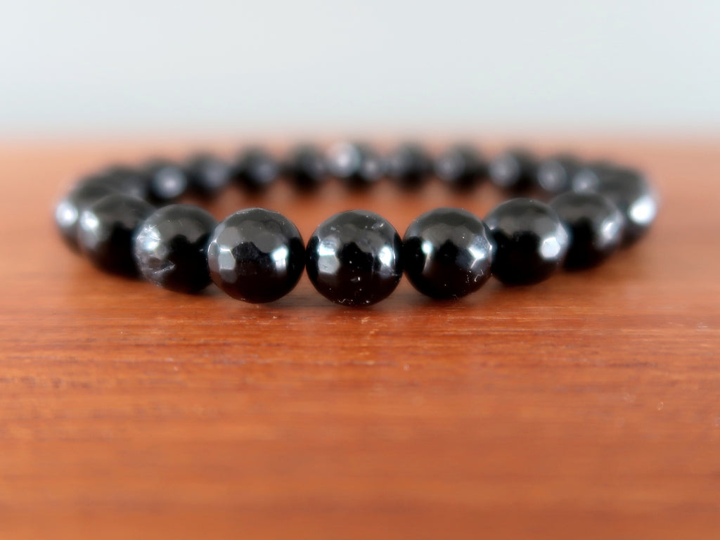 Black Tourmaline - 9 Grounding Crystal Healing Gift Ideas - Satin Crystals