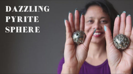 video about the pyrite sphere