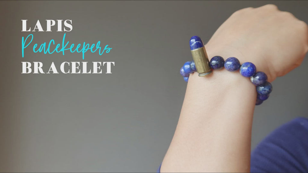video about lapis peacekeepers bracelet