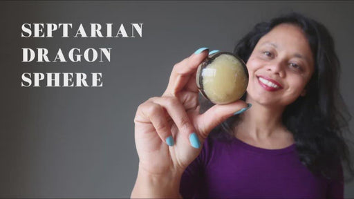 video on septarian dragon spheres
