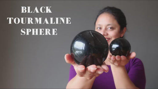 black tourmaline sphere video