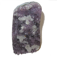 Amethyst Cluster 61 Purple Crystal Standing Display Stone Calcite Positive Energy Gift Room Office Decor 3.8