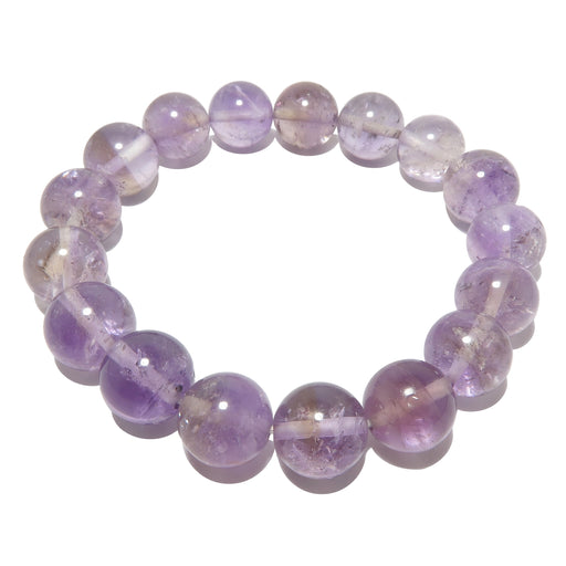 ametrine 10mm stretch bracelet