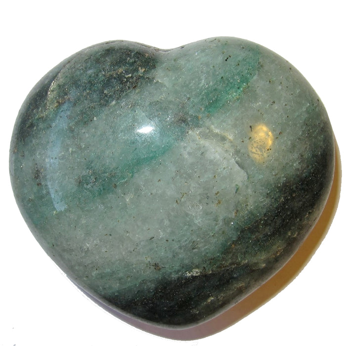 Aventurine Heart Green Green Money Maker Crystal Business Success