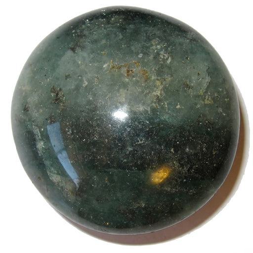 "Aventurine Polished Stone Green 2.4"" Collectible Fat Round Prosperity Crystal Healing Reiki Gem C54"