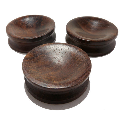 3 rosewood display stand pedestals