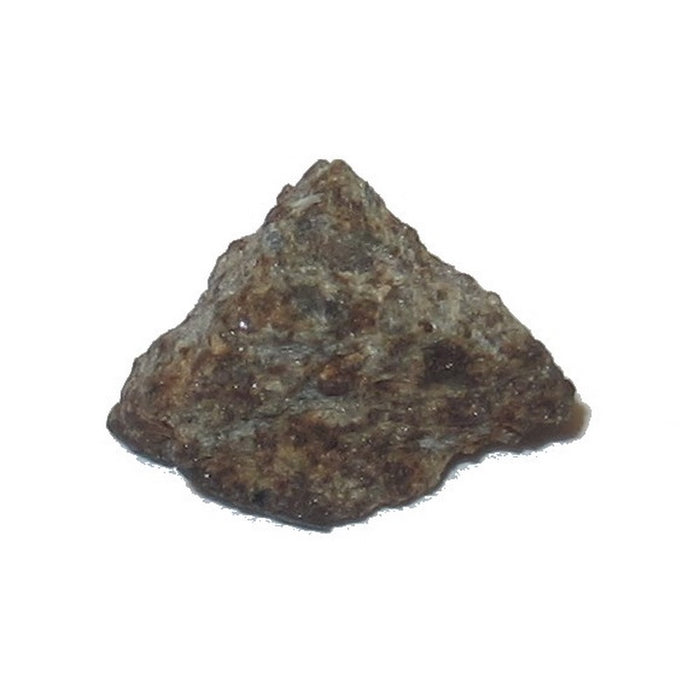 Satin Crystals Chergach Meteorite is a rocky little triangle shape named Bermuda Triangle