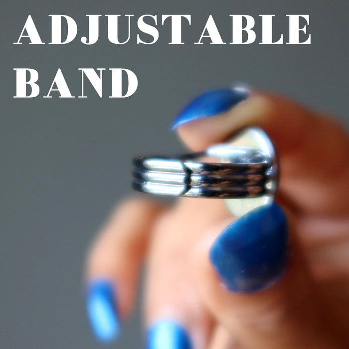 adjustable gunmetal band