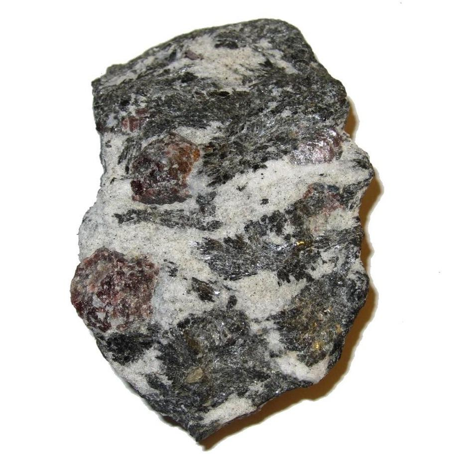 "Garnet Cluster Biotite 2.8"" Collectible Red Almandine Gemstones in Matrix Total Holistic Health Stone Transylvania C01"