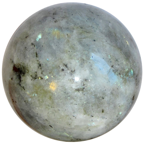 Silver Labradorite sphere by Satin Crystals for healing and divination energy