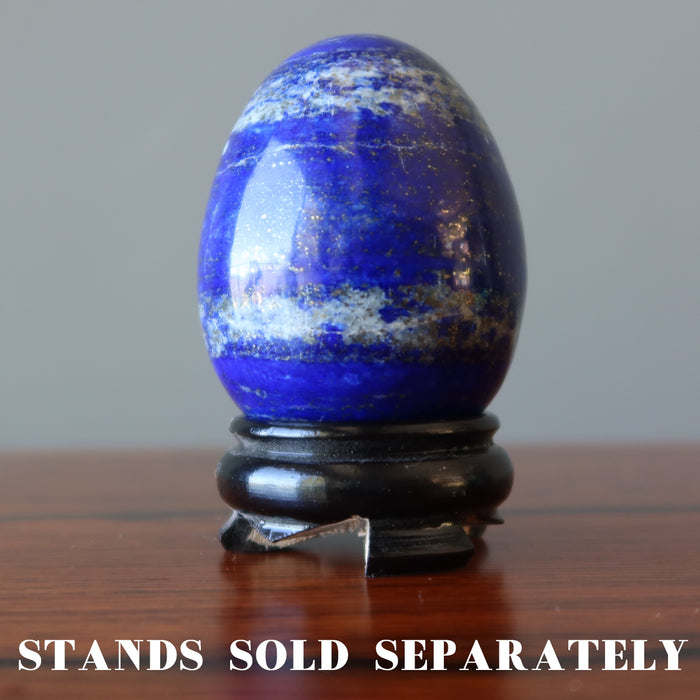 Lapis Egg Meditation Vision Stone Best Blue Royal Afghan Crystal