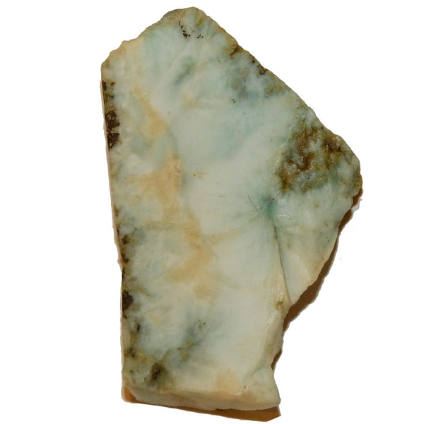 "Larimar Raw Gemstone Slice 2.1"" Collectible Natural Rocky Blue Crystal Meditation Energy Vibration C60"