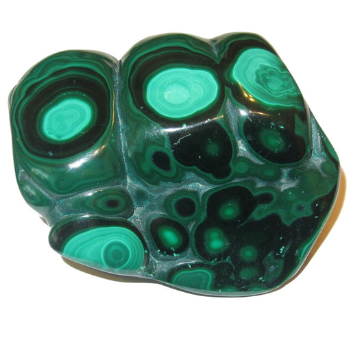 "Malachite Polished Stone 2.7"" Collectible Green Hulk Knuckles Crystal Cluster Power Strength Rock C53"