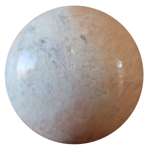 cream moonstone sphere