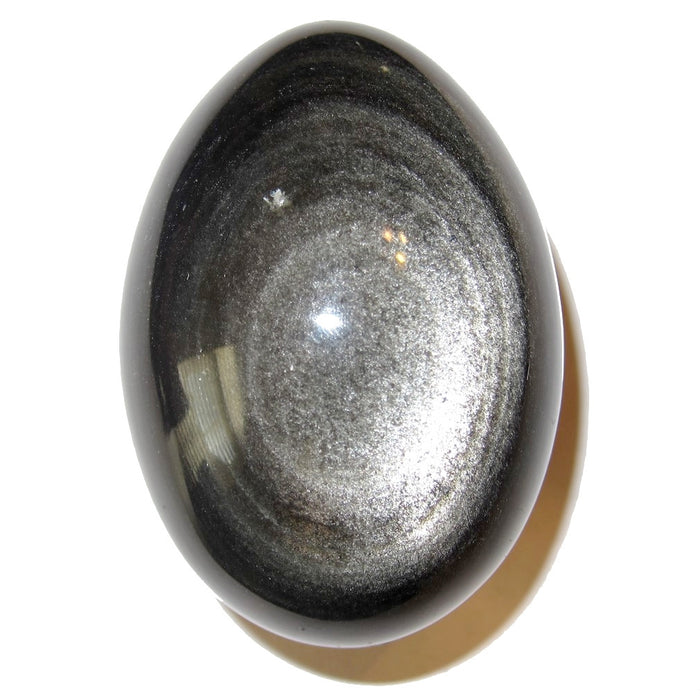 silver sheen obsidian of high quality from Satin Crystals