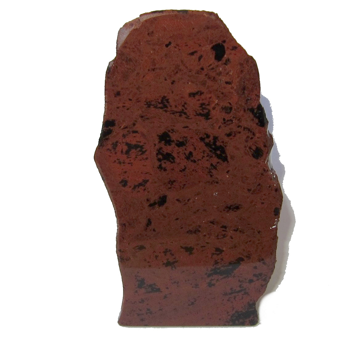 "Obsidian Mahogany Polished Stone 4.8"" Collectible Shiny Gazing Visionary Intuitive Reading Rock Standing Crystal C50"