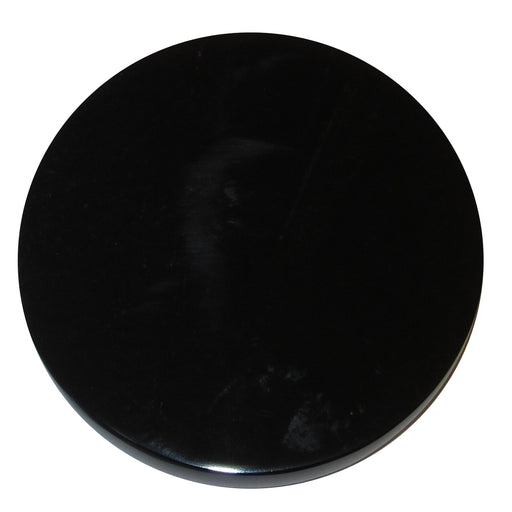 black obsidian circle mirror stone