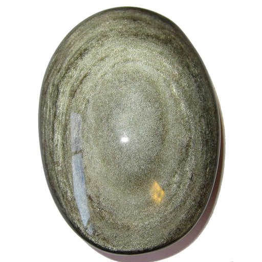 Obsidian Polished Stone Gold 56 Starry Universe Healing Energy Crystal XL Volcanic Glass Specimen 4.3""