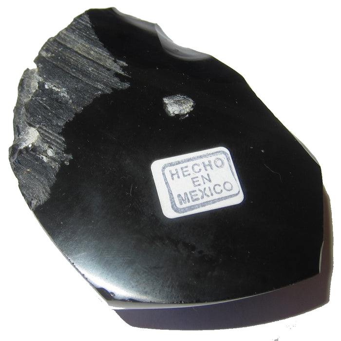 "Obsidian Rainbow Heart 2.3"" Collectible Healing Power of Love Stone, Polished & Raw Lava Rock C55 (Sweetheart)"