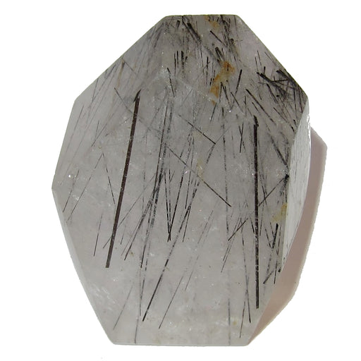 Quartz Point Tourmaline 50 Clear Stone Black Threads Protective Energy Gemstone Mineral 2.1""