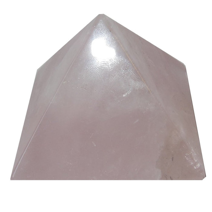 Rose Quartz Pyramid Love Energy Feng Shui Pink Power Stone