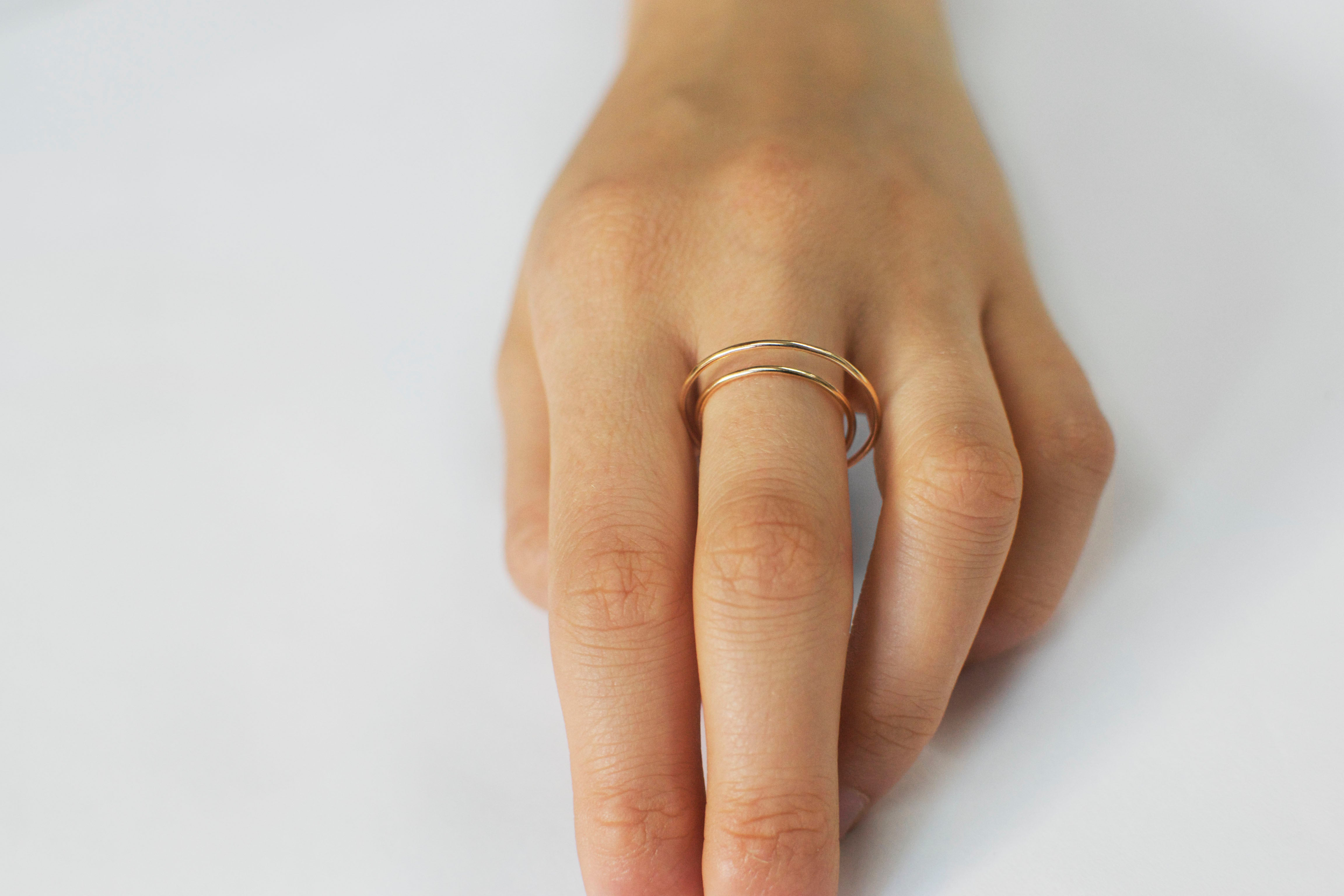 →Halo← Finger Ring