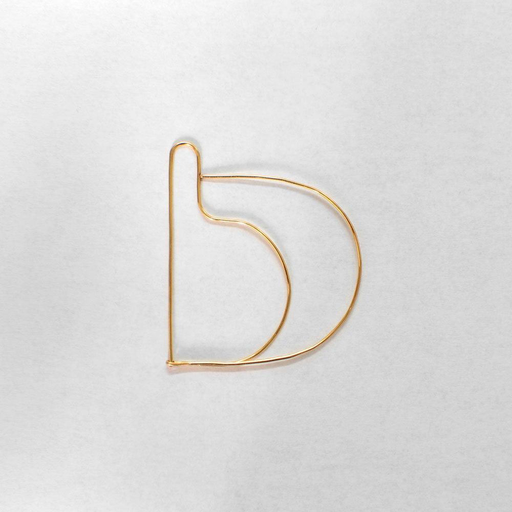 →CONTOUR←<BR>EARRING