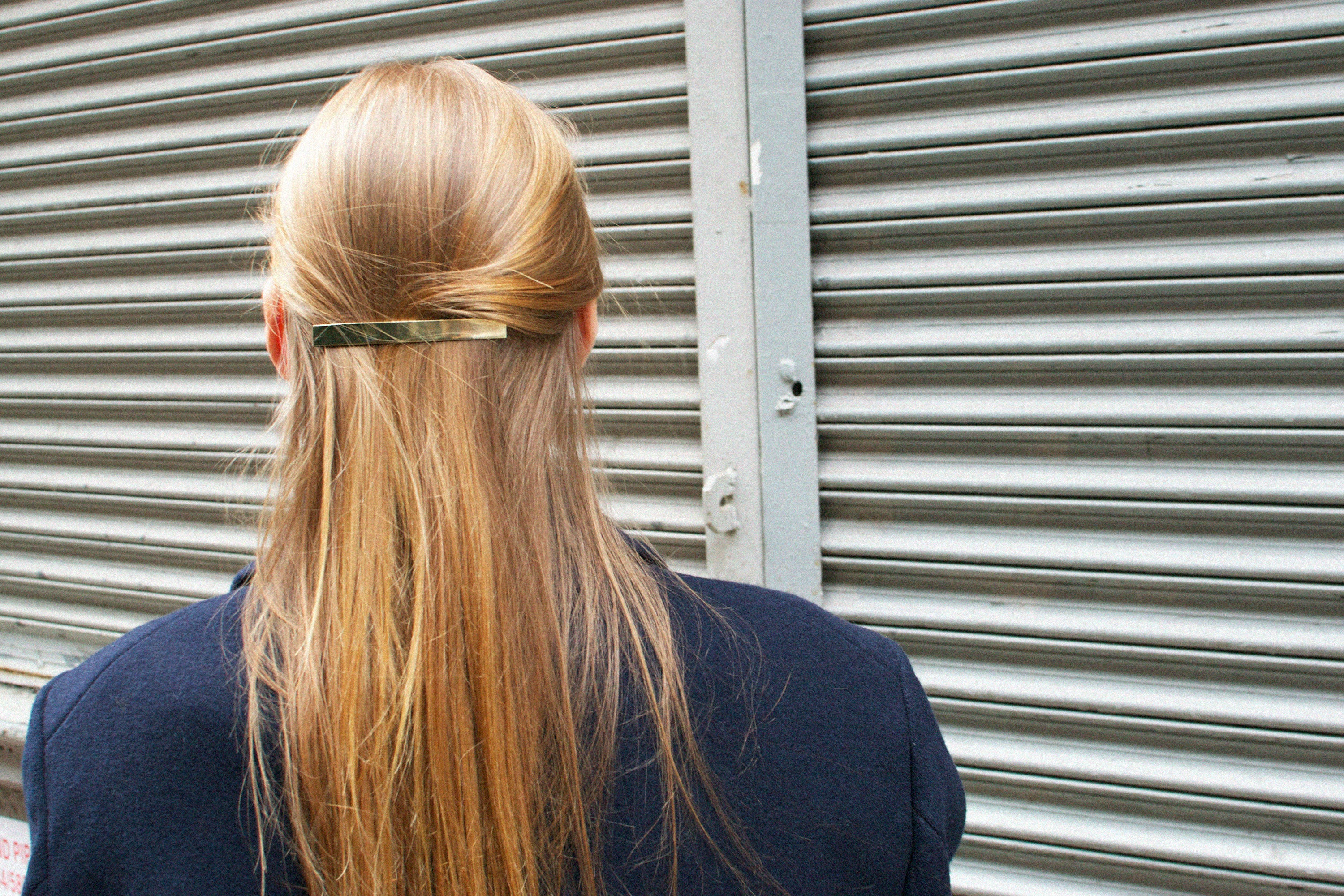 →Long Bar Hair Pin← Hair Pin