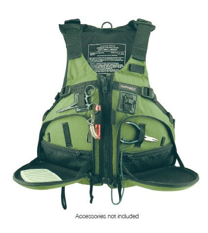 PFD - Stohlquist - Fisherman - Olive Green