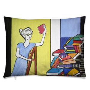 The Bookworm Cushions