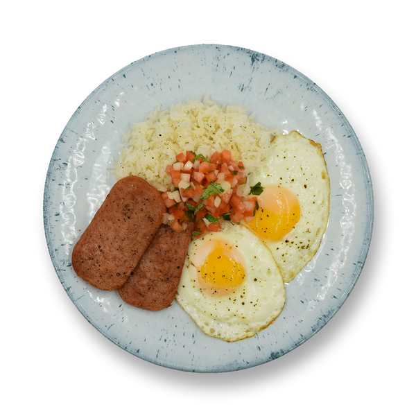 Crispy Spam & Eggs