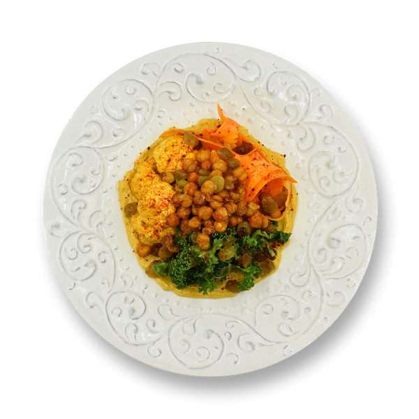 Indian Spiced Chickpea Salad (Next Day Delivery)