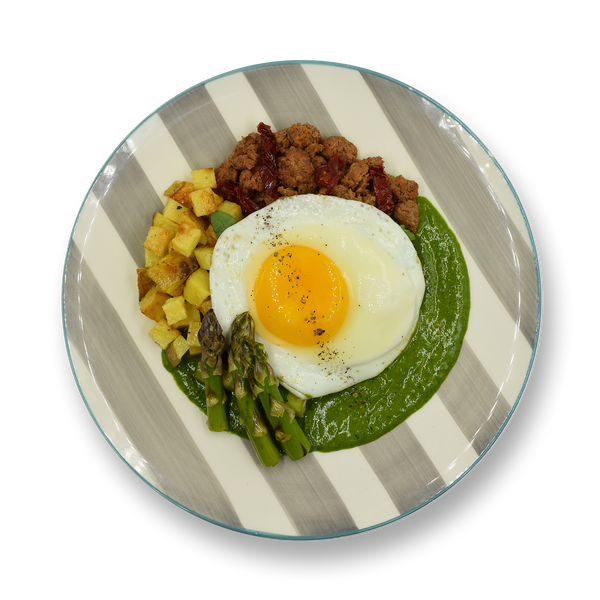 Pesto Turkey Egg Breakfast