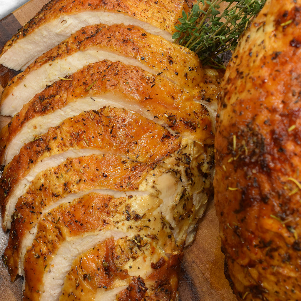Herb Crusted Turkey Breasts