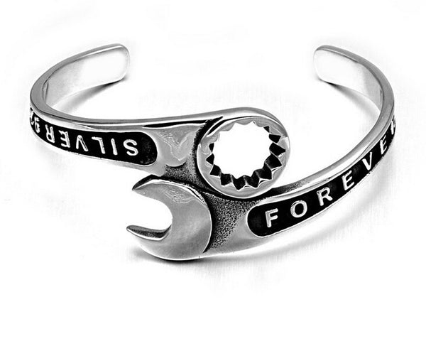 Steel Wrench Bracelet