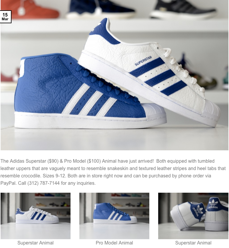brand new buying now new appearance Adidas Superstar Animal & Pro Model Animal – Leaders 1354