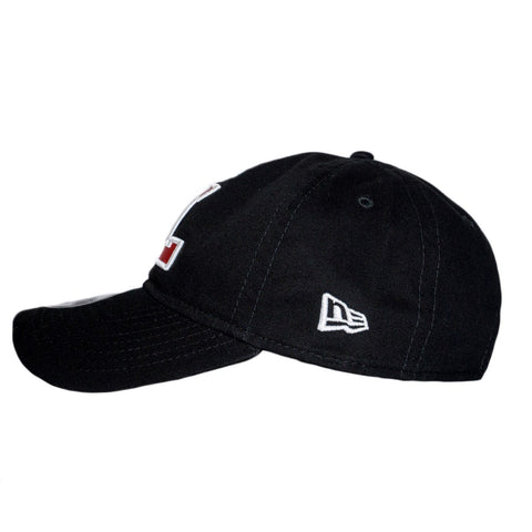 L-Wing Black/Red Dad Hat