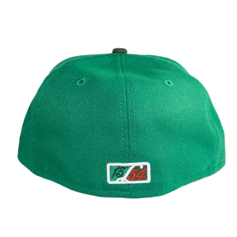 'Mean Green' Interlock Fitted Hat