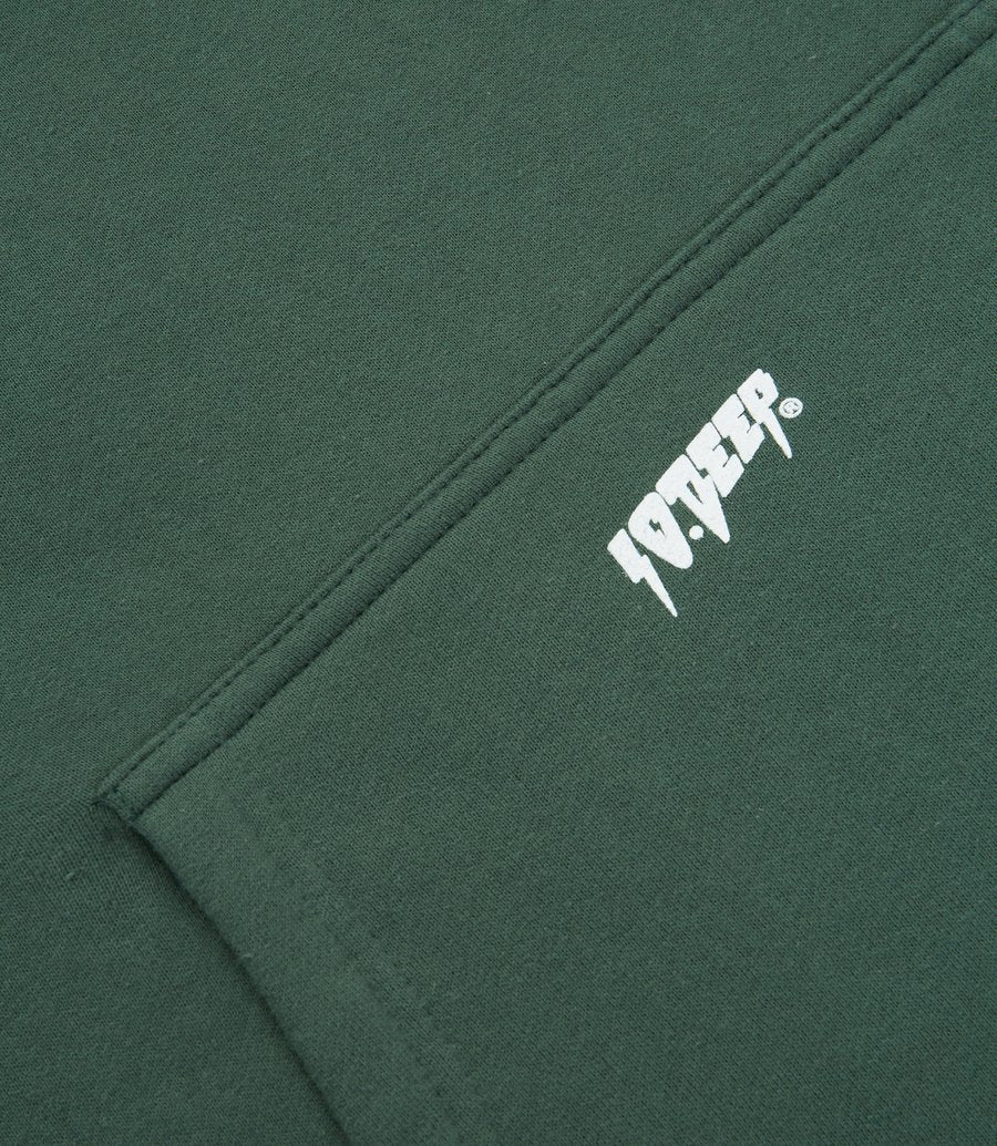 Logo Hoodie Forest Green