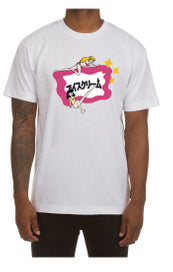 Groupies SS Tee White