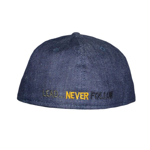 Seal Raw Denim Fitted Hat
