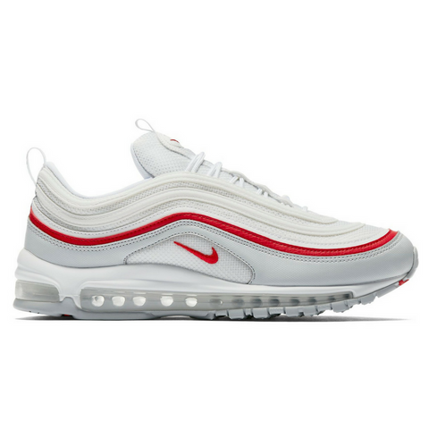 Nike Air Max 97 OG (Platnium/University Red) - leaders1354