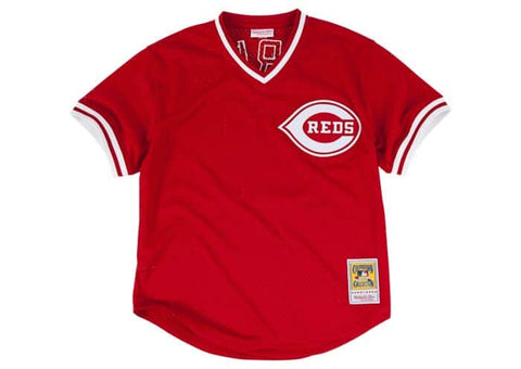Barry Larkin 1990 Authentic BP Jersey