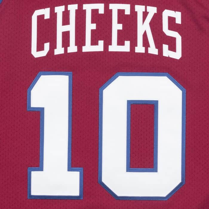 Mo Cheeks 1982-83 Sixers Authentic Jersey