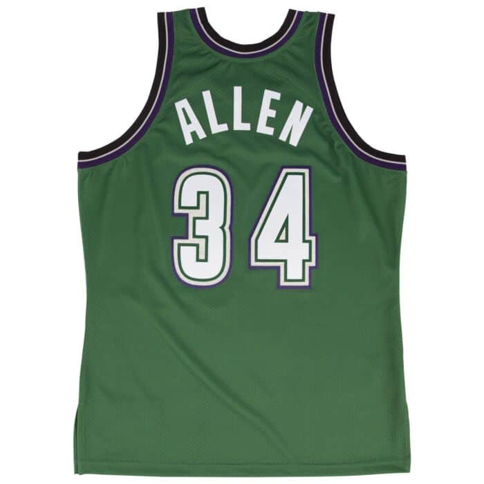 Ray Allen Bucks 1996-97 Authentic Jersey