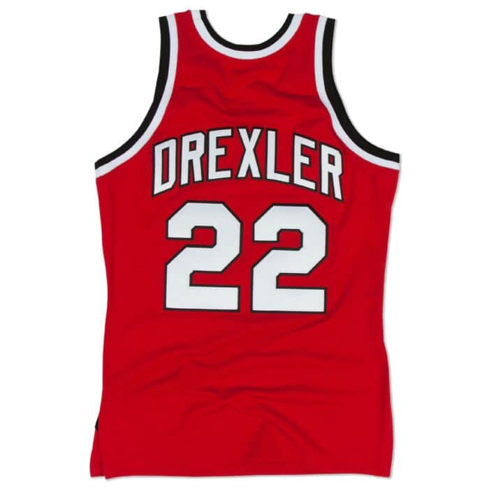 Clyde Drexler 1983-84 Blazers Authentic Jersey