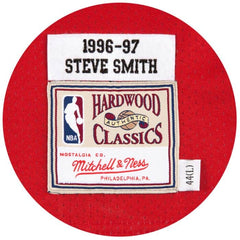 Steve Smith 1996-97 Atlanta Hawks Authentic
