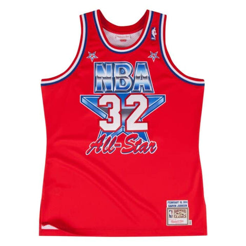 Magic Johnson 1991 Authentic All-Star Jersey