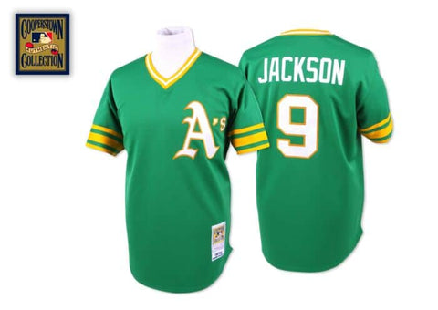 Reggie Jackson 1974 Authentic Oakland A's Jersey