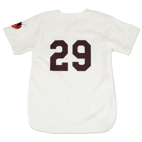 Satchel Paige 1953 St. Louis Browns Authentic Jersey